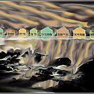 Naswa Falls Mindscape by Wayne King