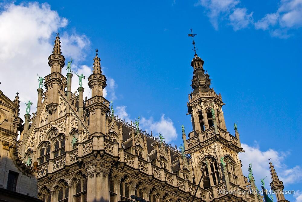La Maison du Roi - Brussels - Grand Place by Alison Cornford-Matheson