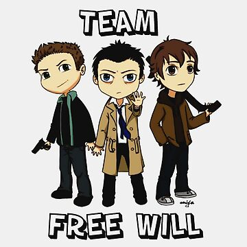 Team Free Will by sarahhwilsonn