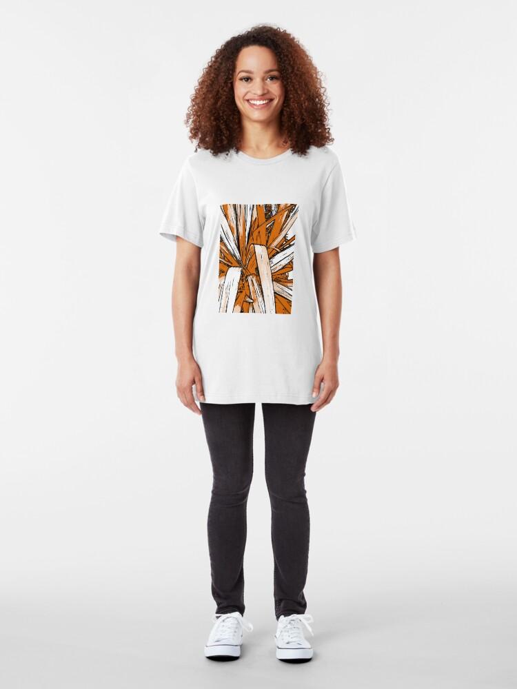 Alternative Ansicht von Tropisch Slim Fit T-Shirt