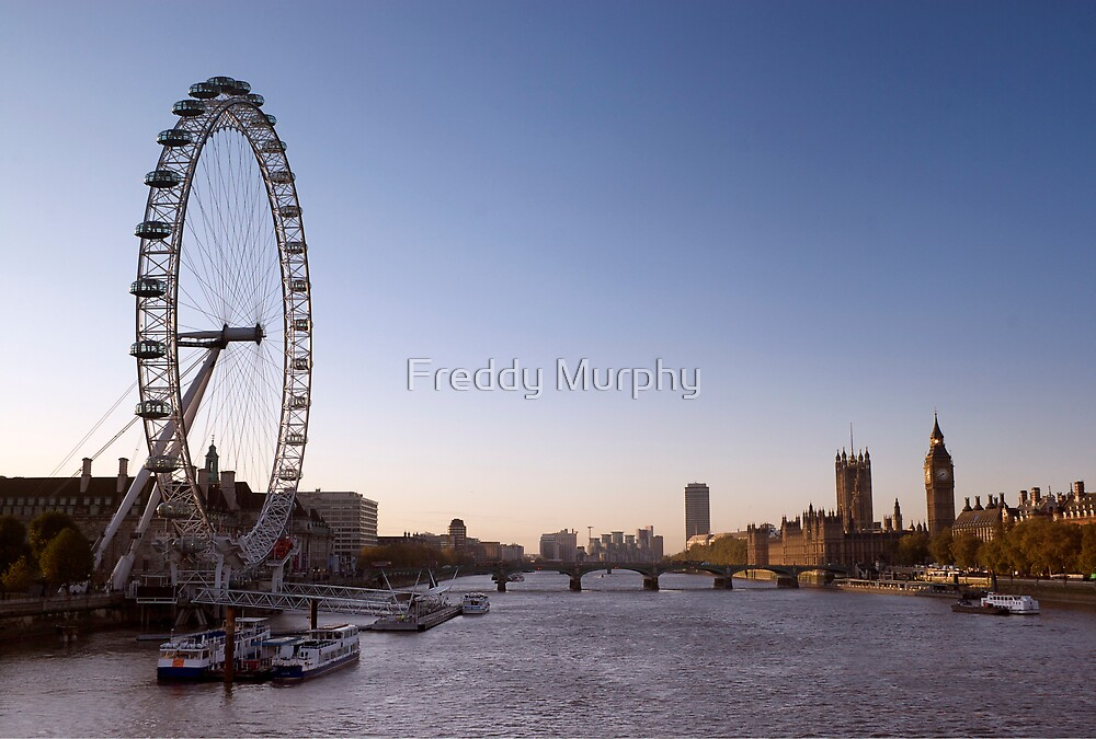 London view by Freddy Murphy