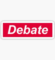 debate Sticker