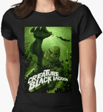 Creature From The Black Lagoon Womens Fitted T Shirt