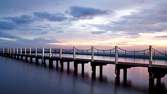 Narrabeen Ocean Pool by Nicholas Blackwell