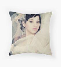 Pixie Bride Throw Pillow