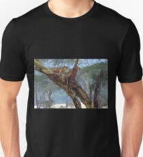 Young Lions in a Tree  T-Shirt