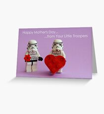 Mother's Little Troopers Greeting Card