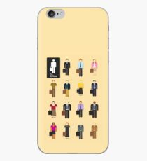 Vinilo o funda para iPhone Las figuras de Office Stick
