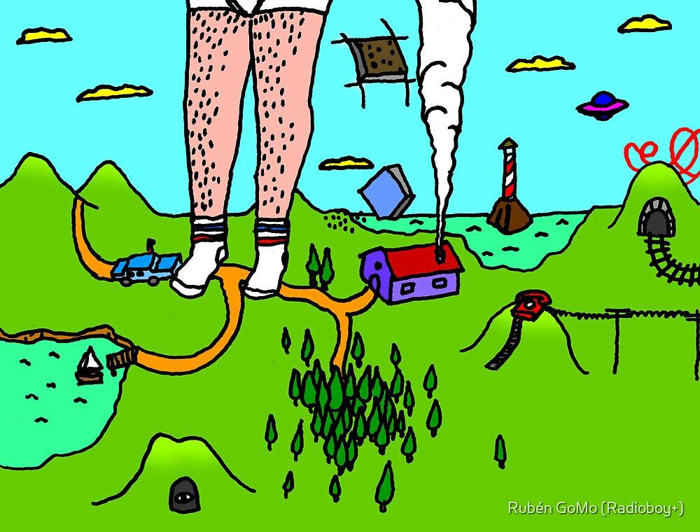 paisaje #2 by RADIOBOY by Rubén Gómez Radioboy