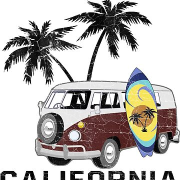 California Surfin' by monarchgraphics