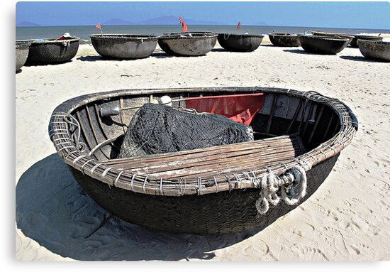 Coracles  by Ethna Gillespie