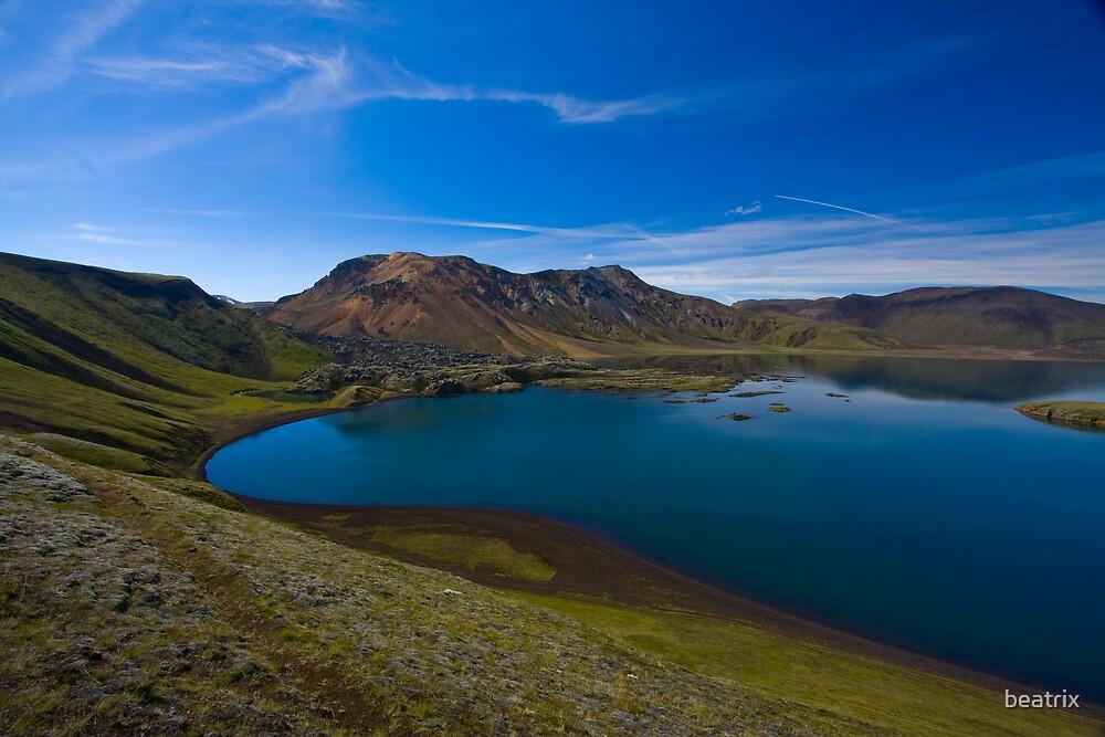 Blue Lake - Iceland by beatrix