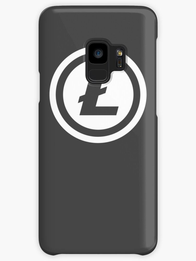 Litecoin Logo L Symbol Coin Cases Skins For Samsung Galaxy By