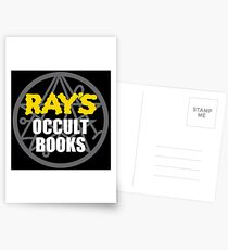 Ray's Occult Books Postcards