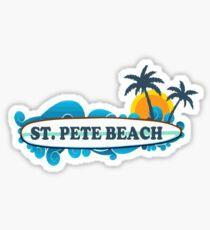St. Pete Beach. Sticker