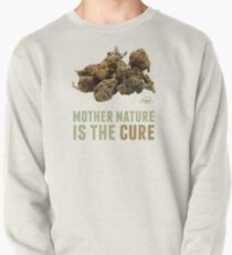 Mother Nature is the Cure Pullover Sweatshirt