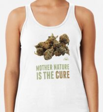 Mother Nature is the Cure Racerback Tank Top