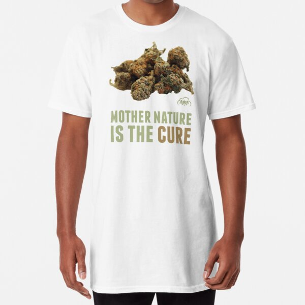 Mother Nature is the Cure Long T-Shirt