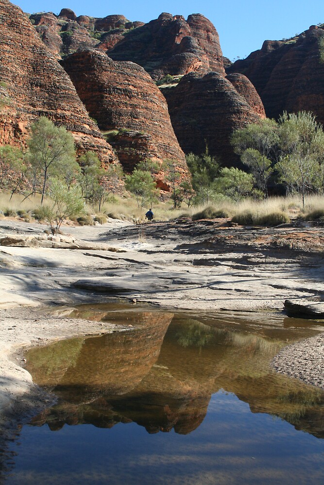 Bungle Bungle reflections by Pearlie