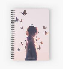 Schmetterling Taehyung Spiralblock