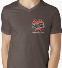 Gamer Badge - XBox Men's V-Neck T-Shirt