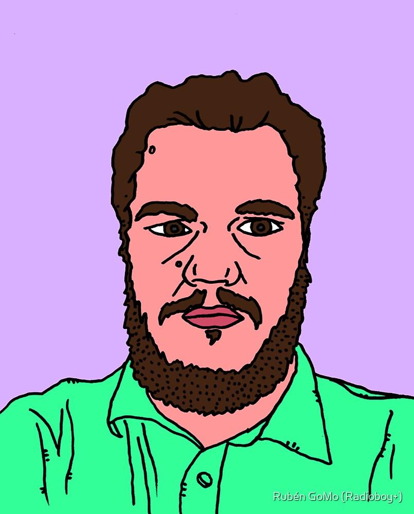 the face by RADIOBOY by Rubén Gómez Radioboy