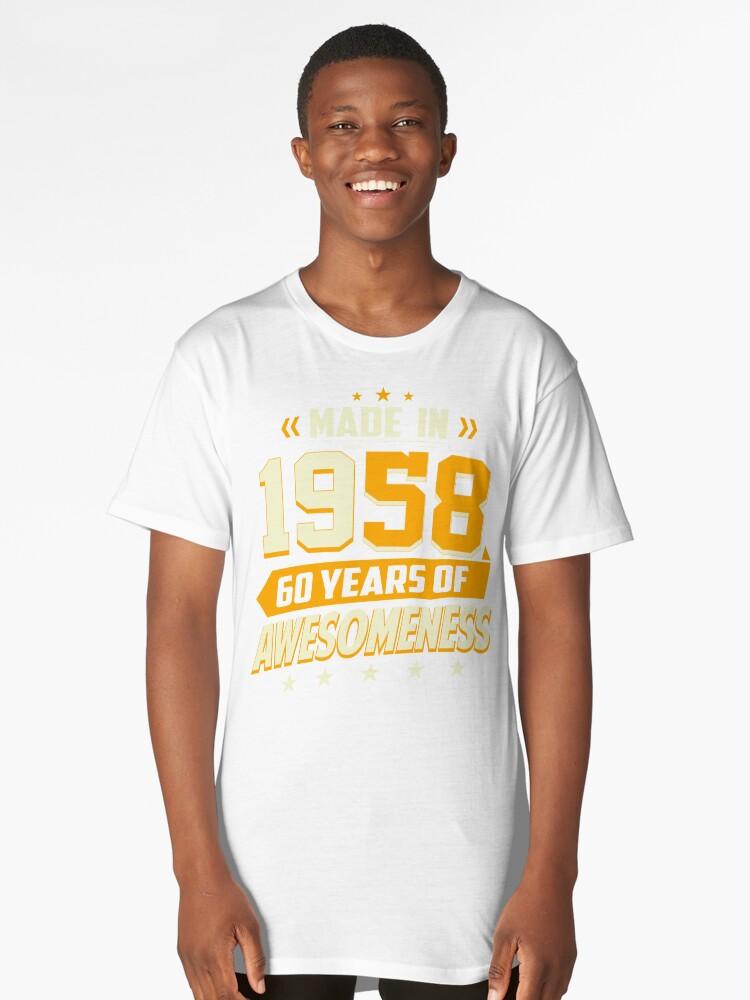 60. Geburtstag Vintage 60 Jahre alte Männer Frauen Geschenke ...