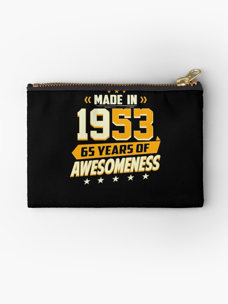 65th Birthday Vintage 65 Year Old Men Women Gifts