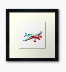 Plane in the skies Framed Print