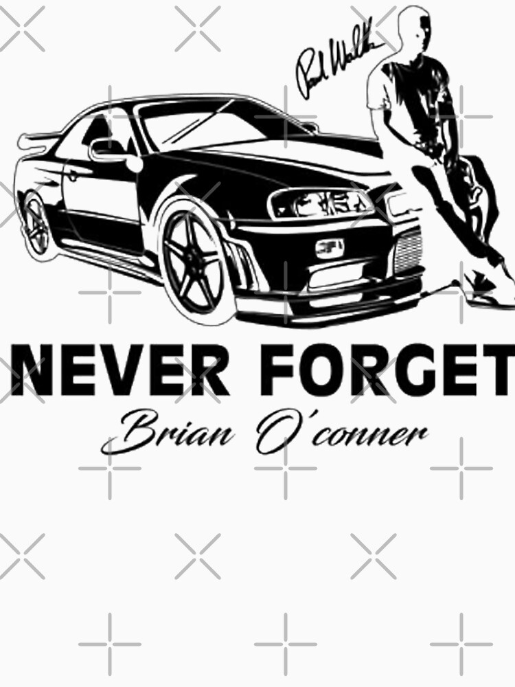 fast 8 never f et paul walker rip long t shirt by bilinyam Fast and Furious Clothing fast 8 never f et paul walker rip by bilinyam