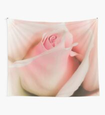 Blushing Pink  Wall Tapestry