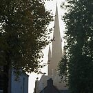 Autumn evening churches, 4 of 5 by MooseMan