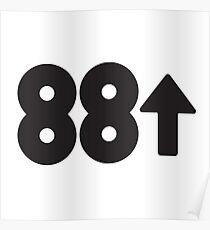 88rising Logo Poster