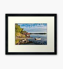 Archipelago in Sweden Framed Print