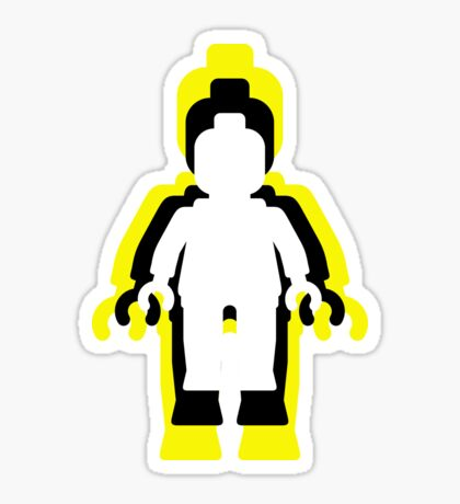 MINIFIG MAN  Sticker