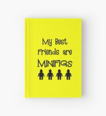 My Best Friends are Minifigs  Hardcover Journal