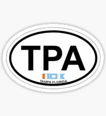 Tampa - Florida. Sticker