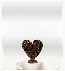 Love at first cup. Poster