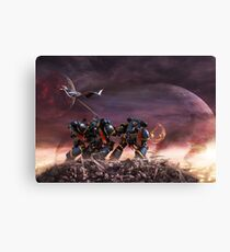 Space Marines Canvas Print