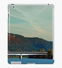 Bridge, scenery and some clouds | architectural photography iPad Case/Skin