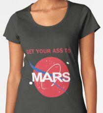Get your ass to Mars Women's Premium T-Shirt