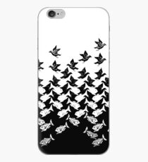 Fish and Birds Art Deco Tessellation iPhone Case