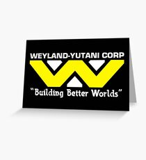 Weyland-Yutani Corp Greeting Card