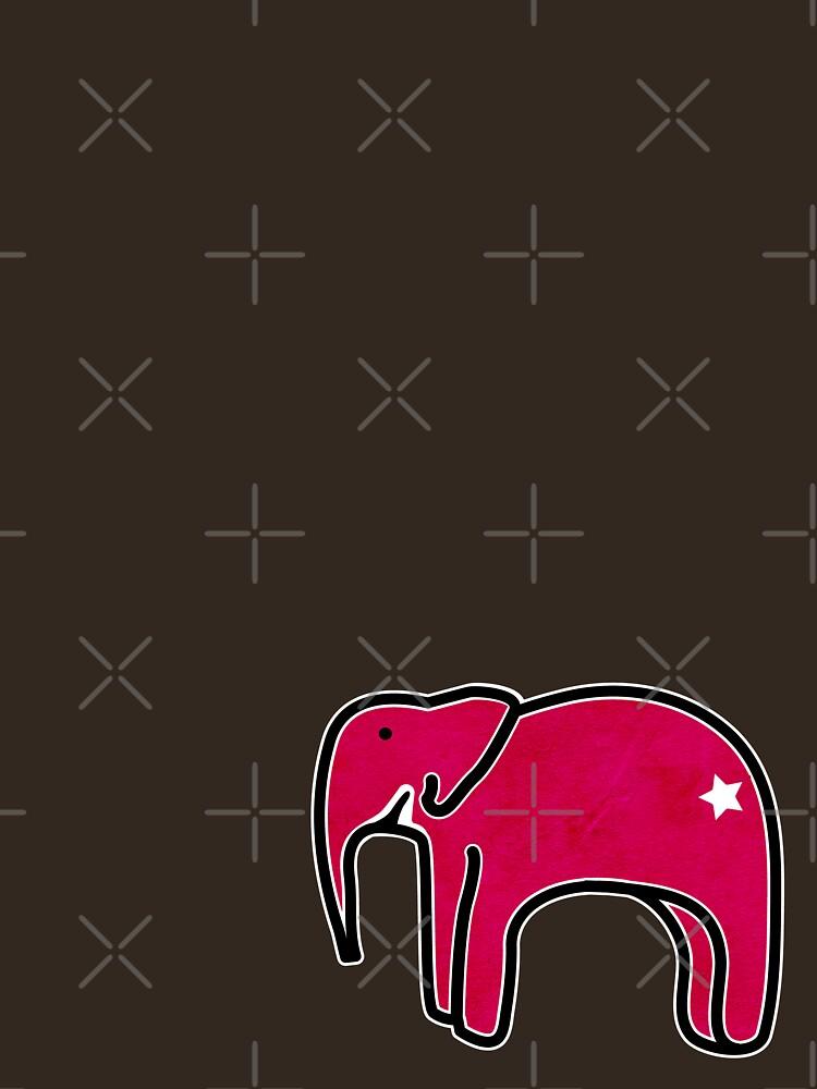 Baby Pink Elephant by KjunSL1