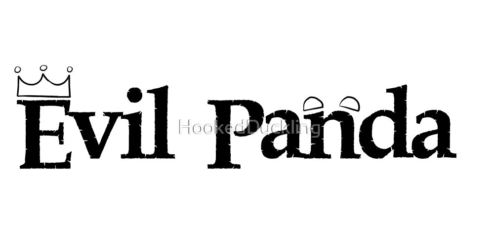 14. Lana Parrilla Evil Panda by HookedDuckling