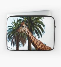 Funny Giraffe Poking Out Her Tongue, Laptop Sleeve