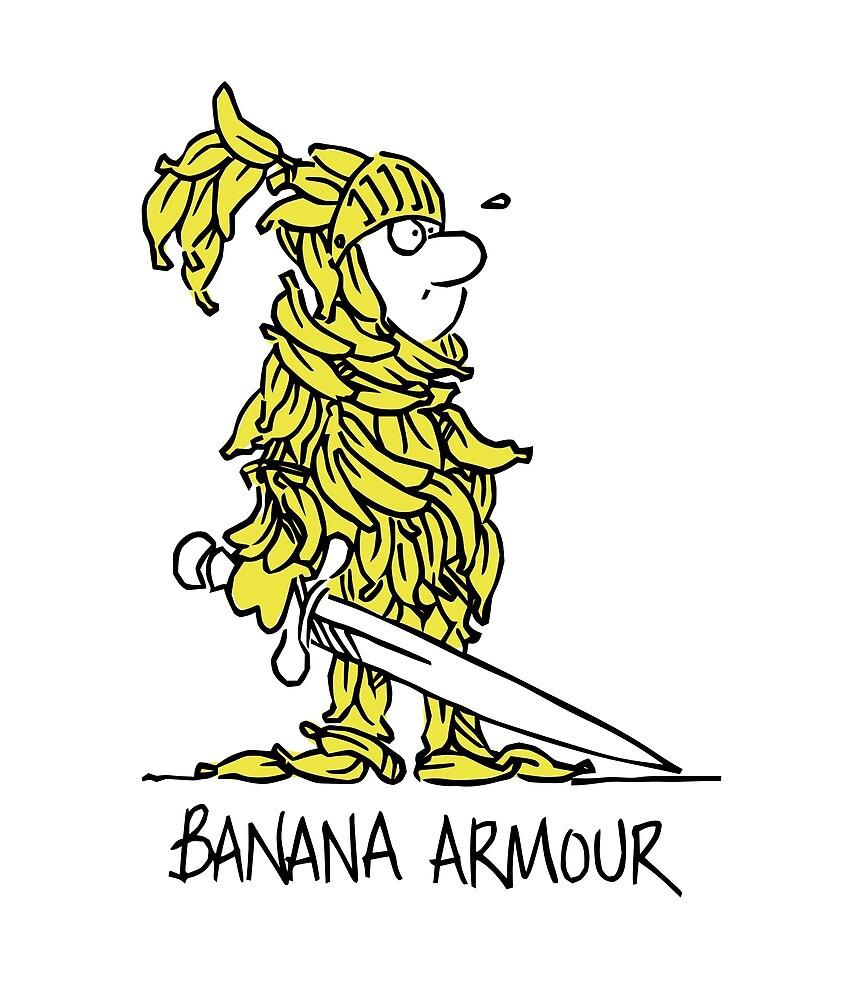 Banana Armour by RobertDuncan