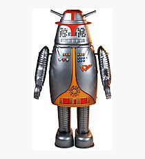 Captain Ultra - Japanese Robot Photographic Print