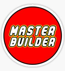 MASTER BUILDER Sticker