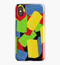 Colored Bricks iPhone Case/Skin